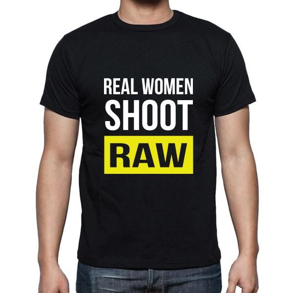 Cameralah Real Women Shoot Raw Photography T-Shirt