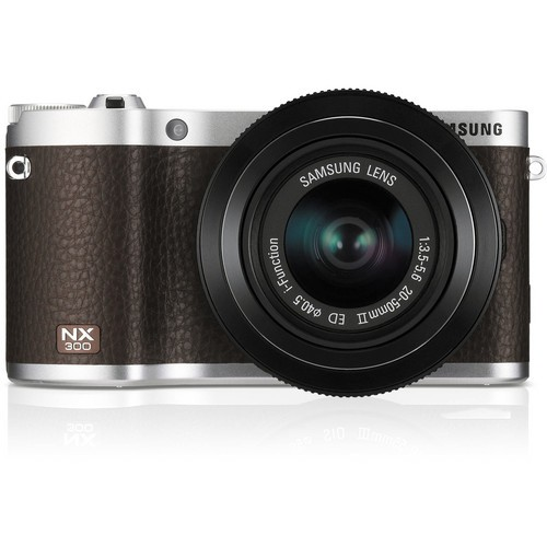 Samsung NX300 Mirrorless Digital Camera with 20-50