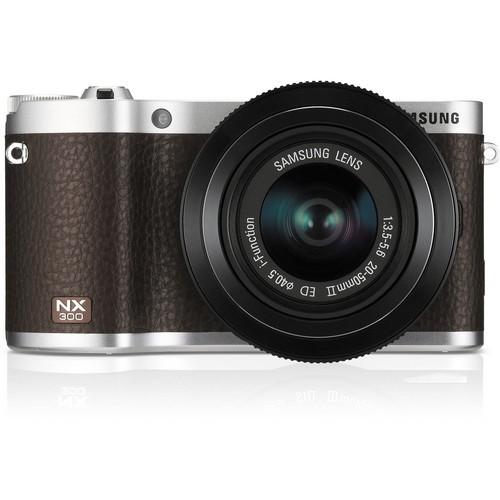 SamsungNX300 Mirrorless Digital Camera with 20-50
