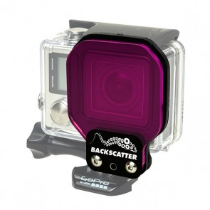 BackScatter Flex Filter for GoPro HERO3+/4 - GREENWATER