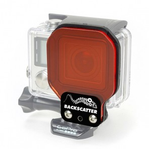 BackScatter Flex Filter for GoPro HERO3+/4 - SHALLOW 5-20 Feet