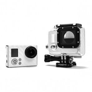 BazeSkin Carbon Fiber White Full Body Skin for GoPro HERO3 / HERO3+