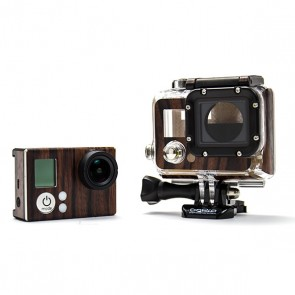BazeSkin Ebony Wood Full Body Skin for GoPro HERO3 / HERO3+