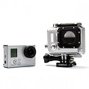 BazeSkin Metal Brushed Steel Full Body Skin for GoPro HERO3 / HERO3+