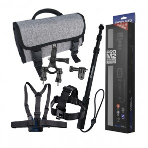 Action Camera Accessories Kit - Intermediate