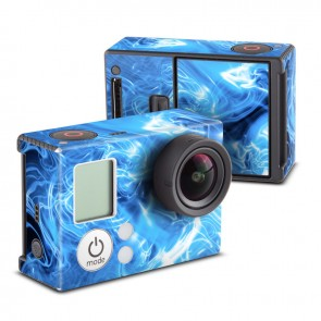 Blue Quantom Waves Skin for GoPro HERO3 and HERO3+