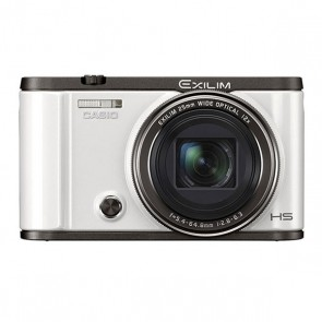Casio Exilim ZR-3500 12MP Compact Digital Camera (White)