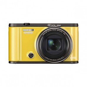 Casio Exilim ZR-3500 12MP Compact Digital Camera (Yellow)