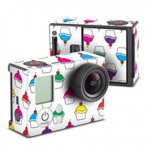 Cupcake Party Skin for GoPro HERO3 and HERO3+