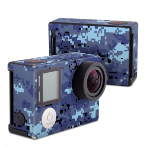 GoPro HERO4 Black Edition Skin - Digital Sky Camo