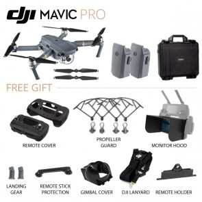 [READY STOCK] DJI Mavic Pro Combo with Total 2 batteries + HardCase (Official DJI Malaysia Warranty)