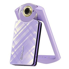 Casio EX-TR60 12.7MP High Definition Beauty Digital Camera (Light Violet)