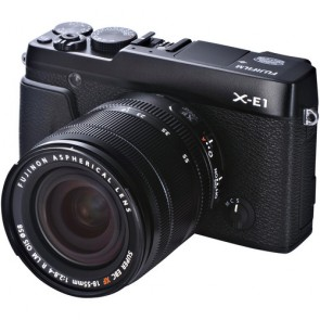 Fujifilm X-E1 16.3 MP Mirrorless Digital Camera Kit with XF 18-55mm f/2.8-4 OIS Lens (Black)