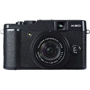 Fujifilm X20 12MP Compact Digital Camera (Black)