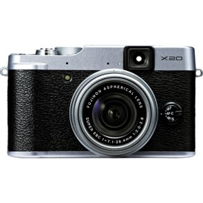 Fujifilm X20 12MP Compact Digital Camera (Silver)