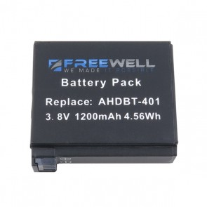 Freewell AHDBT-401 Battery for GoPro HERO4