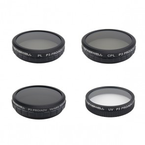 Freewell ND2-400/CPL/PL/UV Filter Set for DJI Phantom 3/4