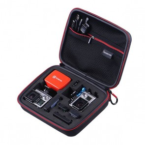Smatree SmaCase G160S EVA Carrying and Travel Case for Action Cameras (FULL BLACK)