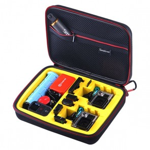 Smatree SmaCase G260S EVA Carrying and Travel Case for Action Cameras (YELLOW)