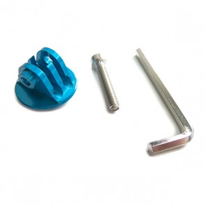 HIROGear Aluminium Screw Mount (Blue)