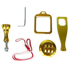 HIROGear Aluminium Kit (Gold)