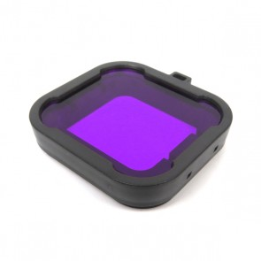HIROGear Diving Filter HERO4/3+ for GREEN WATER (Magenta)