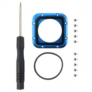 HIROGear Lens Replacement Kit for HERO4 Session (Blue)