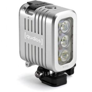 Knog Qudos Action Video Light (Silver)