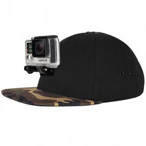 LLG ActionHat for GoPro/Xiaoyi/SJCAM Action Cameras (Camo)