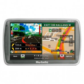 Marbella HD7 7'' GPS Navigator with Bulit-In HD720P DVR