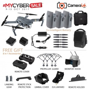 MYCYBERSALE DJI Mavic Pro FLY MORE Combo (Official DJI Malaysia Warranty)