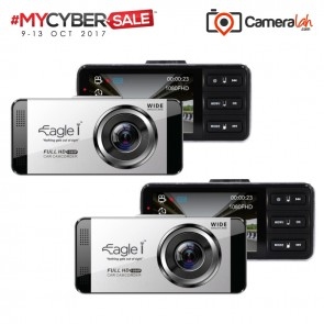 MYCYBERSALE Eagle i EG-1 Dash Cam Car DVR Recorder COMBO Special Bundle