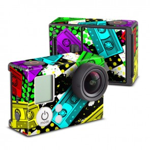 Mixtapes Skin for GoPro HERO3 and HERO3+