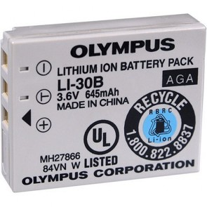 Olympus LI-30B Rechargeable Li-Ion Battery