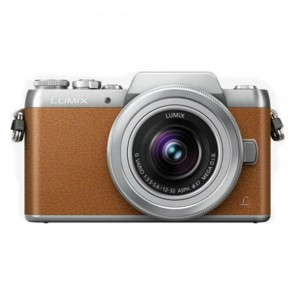 Panasonic Lumix DMC-GF7 Mirrorless Micro Four Thirds Digital Camera with 12-32mm f/3.5-5.6 ASPH. Lens (Brown)