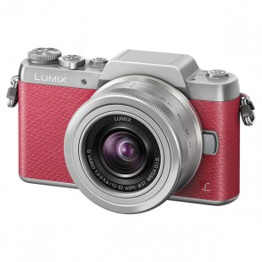 Panasonic Lumix DMC-GF7 Mirrorless Micro Four Thirds Digital Camera with 12-32mm f/3.5-5.6 ASPH. Lens (Pink)