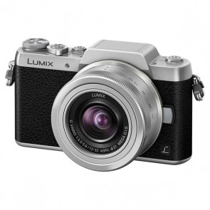 Panasonic Lumix DMC-GF7 Mirrorless Micro Four Thirds Digital Camera with 12-32mm f/3.5-5.6 ASPH. Lens (Silver)