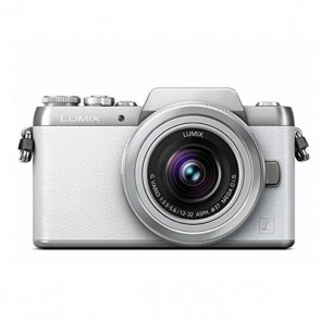 Panasonic Lumix DMC-GF7 Mirrorless Micro Four Thirds Digital Camera with 12-32mm f/3.5-5.6 ASPH. Lens (White)
