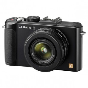 Panasonic Lumix DMC-LX7 Digital Camera (Black)