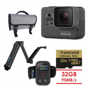 GoPro HERO5 Black ULTRA BUNDLE