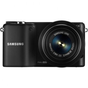 Samsung NX2000 Mirrorless Digital Camera with 20-50mm f/3.5-5.6 Lens (Black)