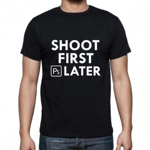 Cameralah Shoot 1st Ps Later Photography T-Shirt