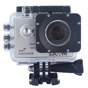 SJCAM SJ5000X Elite 4K WiFi Action Camera (Silver)