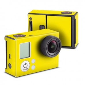 Solid State Yellow Skin for GoPro HERO3 and HERO3+