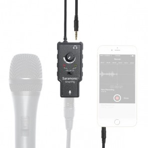 Saramonic SmartRig XLR Audio Adapter for iOS devices and Android devices