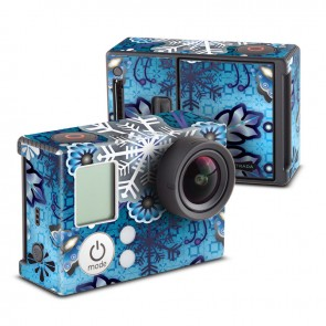 Winter Snowflake Skin for GoPro HERO3 and HERO3+