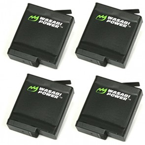 Wasabi Power Battery AABAT-001 for GoPro HERO5 Black (4 Pack)