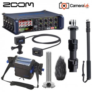 Zoom F8 Multi-Track Field Recorder - Advance BUNDLE