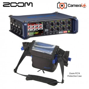 Zoom F8 Multi-Track Field Recorder - Grab & Go BUNDLE