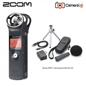 Zoom H1 Handy Recorder - Grab & Go BUNDLE